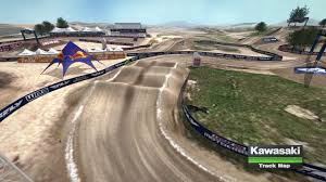 ama motocross tv 2016 hangtown motocross track map youtube