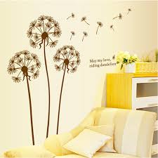 wall removable wall stickers dandelion wall decal lowes wall home depot wall murals dandelion wall decal wall murals decals