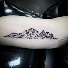 nice mountains small unique tattoos golfian com