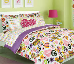 Girls Bed In A Bag by Girls Kids Bedding Christina Heart Bed In A Bag Comforter Set