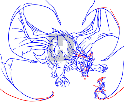 how to draw a dragon slayer step by step drawing guide by