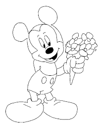 mickey mouse coloring pages fred u0027s corner