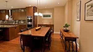 Cupboard Chandelier  Wood Dining Table Placement And Kitchen - Kitchen side tables