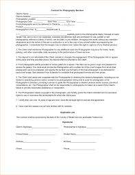 contract photography contract template