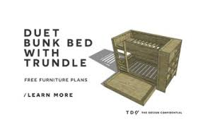 Diy Furniture Plans Free by Free Diy Furniture Plans How To Build A Toddler Cabin Bed The