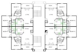 2 unit apartment building plans apartment building floor plans