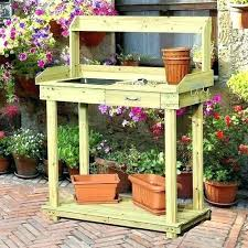 potting table with sink gardening table with sink potting table with storage outdoor