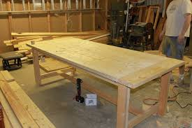 how to build a dining room custom making dining room table home