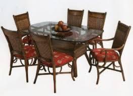 Indoor Rattan Wicker Dining Room Furniture  Sets - Rattan dining room set