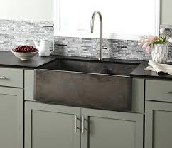 Drop In Farmhouse Kitchen Sinks Drop In Farmhouse Apron Sink Five New Options For Farmhouse