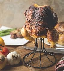 vertical turkey roasting stand fox run 5667 vertical chicken roaster non stick