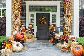 Fall Decorated Porches - patio minimalist and cozy front porch decor small front porch