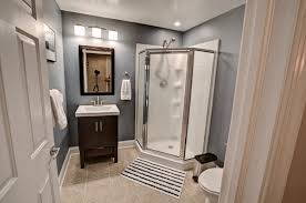 finished bathroom ideas 20 cool basement bathroom ideas home design lover