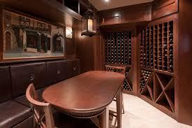wine winecellar inside new custom homes globex developments