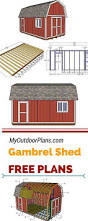 65 best shed images on pinterest lean to shed sheds and how to if you need more storage space in your backyard you should check out my free gambrel shed plans this shed is ideal for a small workshop or for storing