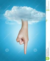 hand of god point the finger stock photo image 60853603