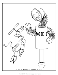 robot coloring pages s mac u0027s place to be