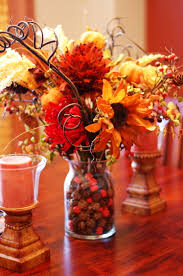 diy thanksgiving flower berries bouquet best easy home decor