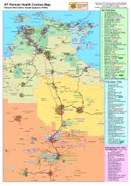 Australian Outback Map Great Map Of Northern Territory Camping Trips Holidays Etc