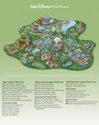 Map Of Walt Disney World by Helpful Info