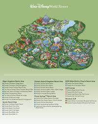 Map Of Disney World Parks Helpful Info
