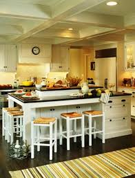 Rustic Kitchen Islands With Seating Image Of Kitchen Island With Built In Seating Modern Kitchen