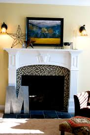 Tiled Fireplace Wall by 201 Best Fireplaces Images On Pinterest Fireplace Design