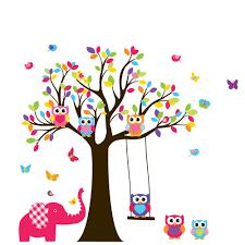 Tree Decals Nursery Wall by Custom Listing Tree Decal Nursery Wall Stickers By Wallartdesign