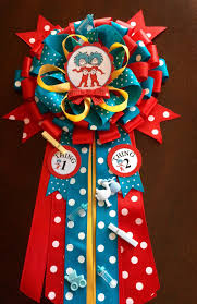 Mom To Be Corsage Cat In The Hat Mommy To Be Corsage Thing 1 By Marshmallowfavors