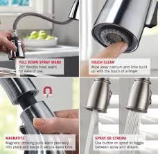 clean kitchen faucet delta faucet leland single handle pull kitchen faucet only