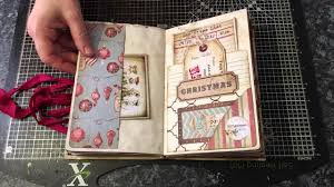 christmas vintage junk journal junkjournaljunkies youtube