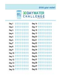 Challenge Water On 18 Best 30 Day Fitness Challenge Images On Exercise