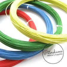 millinery wire 1mm cotton covered millinery wire petershams supplies wiring