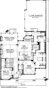 arts and crafts home with 4 bdrms 4083 sq ft house plan 101 1874 101 1874 floor plan main level