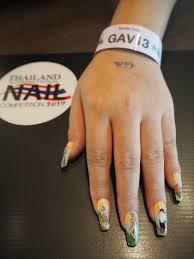 result flat nail art hand paintedin boxed theme u201cjapan u201d novice