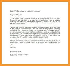 cover letter internship cover letter for internship sample