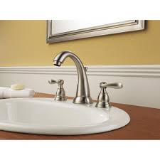 21996lf Ss by Delta Faucet B3596lf Windemere Polished Chrome Two Handle