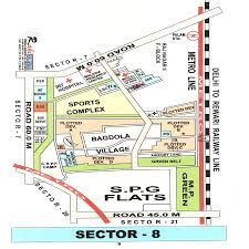 Mci Airport Map Map Of Dwarka Sector 8 U2013 New Delhi Dwarka Sector 8 Map