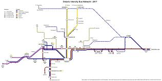 Hamilton Ontario Map Comprehensive Map Of Intercity Bus Service In Ontario Page 7
