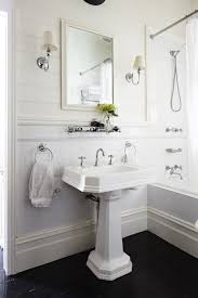 White Tongue And Groove Bathroom Furniture Classic White Bathroom Design With Tongue And Groove Panels Paired