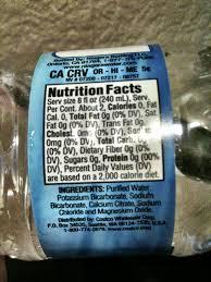 krikland kirkland premium drinking water bottled waters