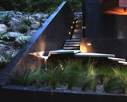 Outdoor Water Features With Lights by Make Outdoor Steps Safer And Stylish With These Lighting Ideas