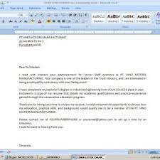 Resume Submission Email Cover Letter Sample Resume Email Sample Resume Email Attachment