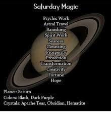 Saturn Meme - saturday magic psychic work astral travel banishing spirit work