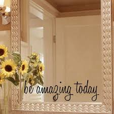 aliexpress com buy free shipping inspirational mirror decal