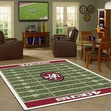 christmas gifts for 49ers fans san francisco 49ers nfl football field rug fan rugs