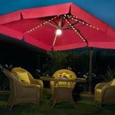 offset patio umbrella with led lights elegant led umbrella patio or led lights for outdoor umbrella