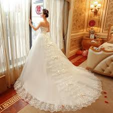 wedding dress version 2016 korean summer version thin stomacher luxury