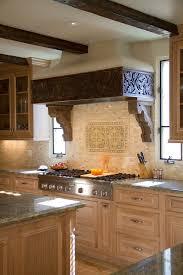 Limed Oak Kitchen Cabinets by Limed Oak Cabinets With Mosaic Tile Backsplash Bathroom