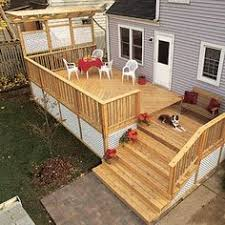 Deck Plans With Pergola by How To Build A Beautiful Platform Deck In A Weekend Platform